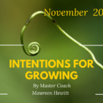 Intentions for Growing
